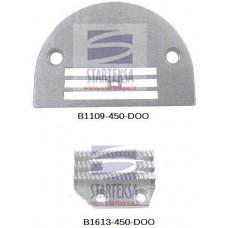 Adatos plokštelė B1109-450-DOO ir transportavimo dantukai B1613-450-DOO