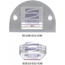 Adatos plokštelė B1109-012-IOB ir transportavimo dantukai B1613-012-IOB