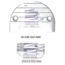 Adatos plokštelė B1109-552-000 ir transportavimo dantukai B1613-552-000