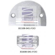 Adatos plokštelė B1109-041-FOO ir transportavimo dantukai B1609-041-FOO