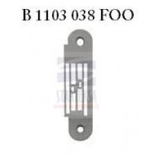 JUKI plokštelė B 1103 038 FOO