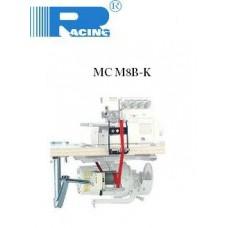 Juostelės, gumos padavimo mechanizmas MC M8B-K